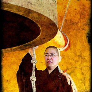 Portrait: Buddhist Monk