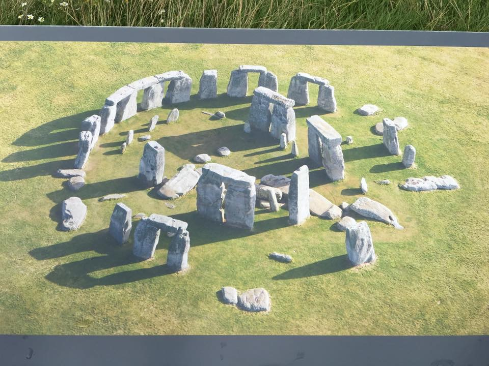 Stonehenge Information Display
