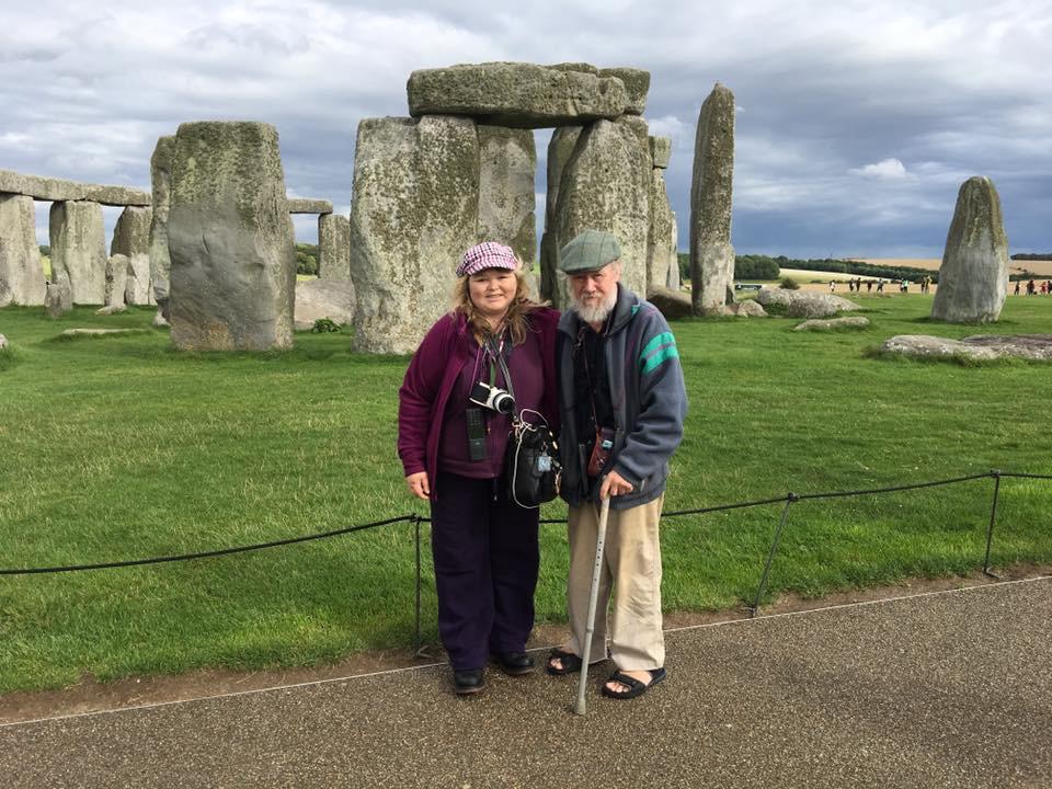 Vanessa and Philip at Stonehenge