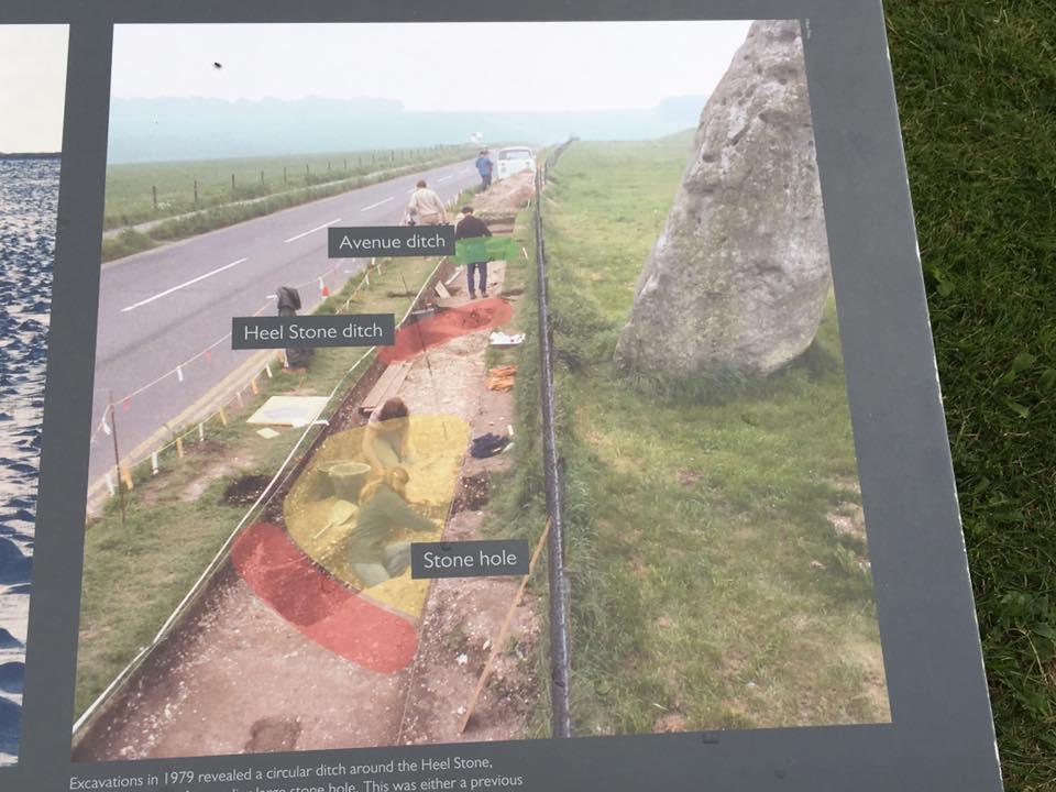 Stonehenge - Avenue ditch, Heel Stone ditch, Stone hole