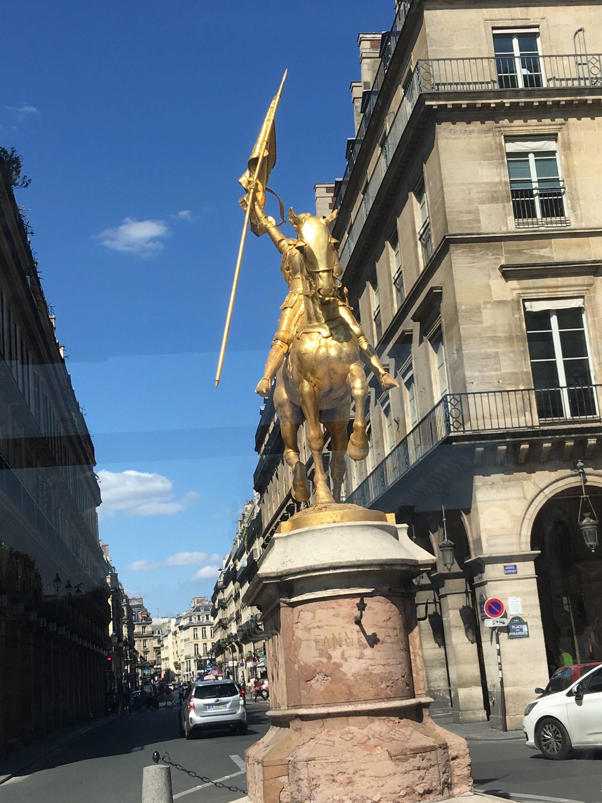 Statue of Jeanne of Arc - Paris, France