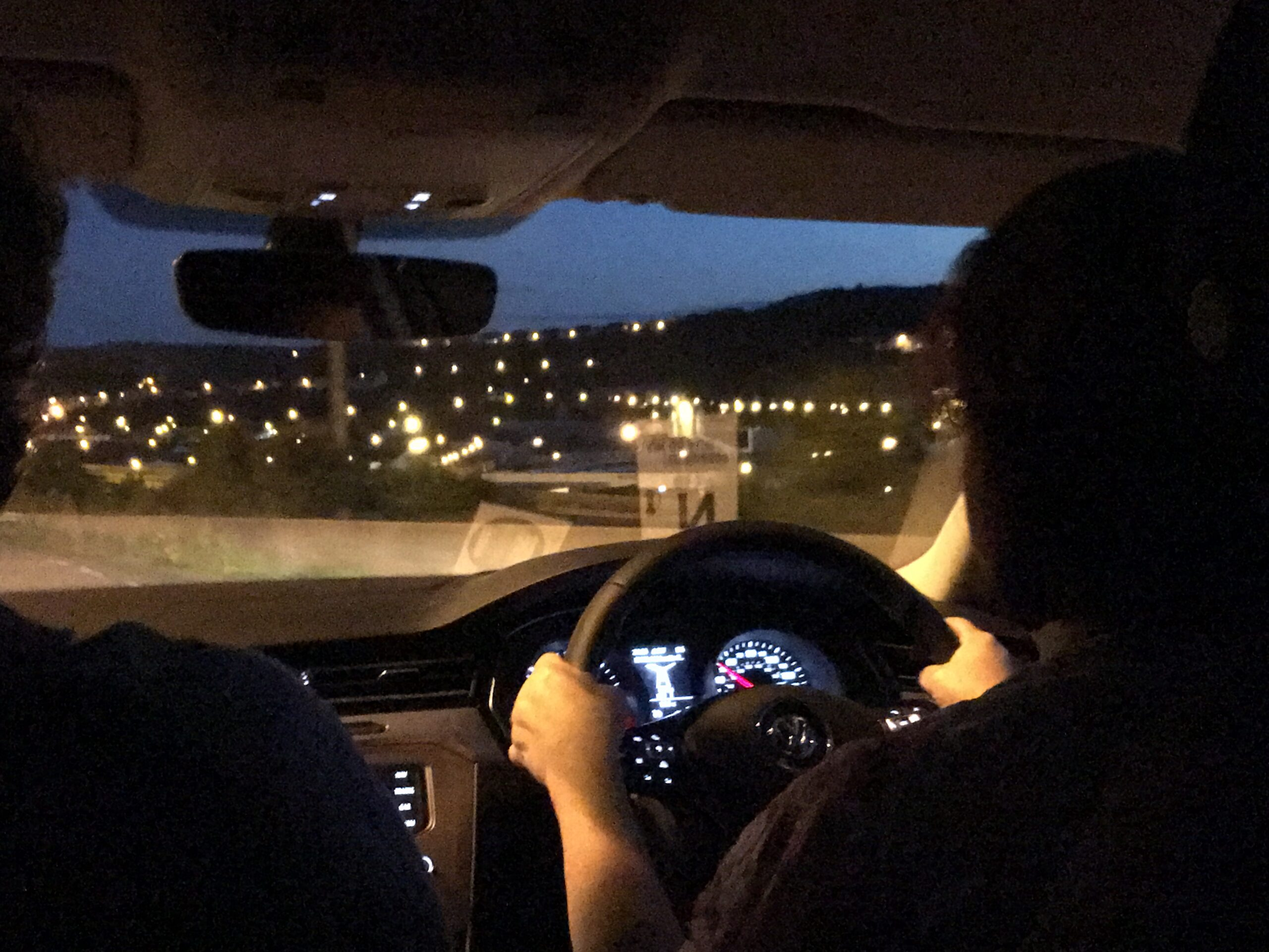 Driving from Calais to Paris