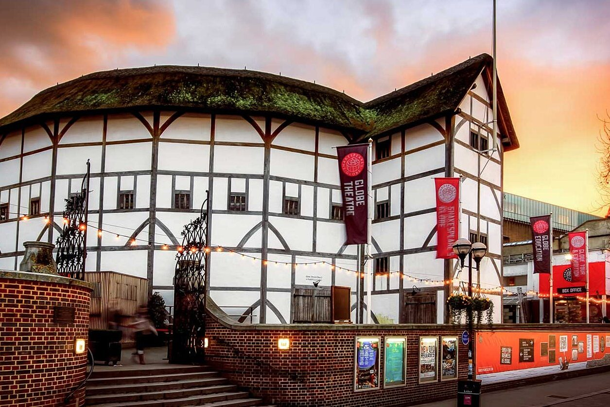 Much Ado About Nothing play at the Globe Shakespeare's Theatre